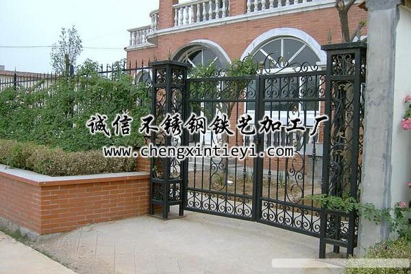 大门别墅欧式院子大门