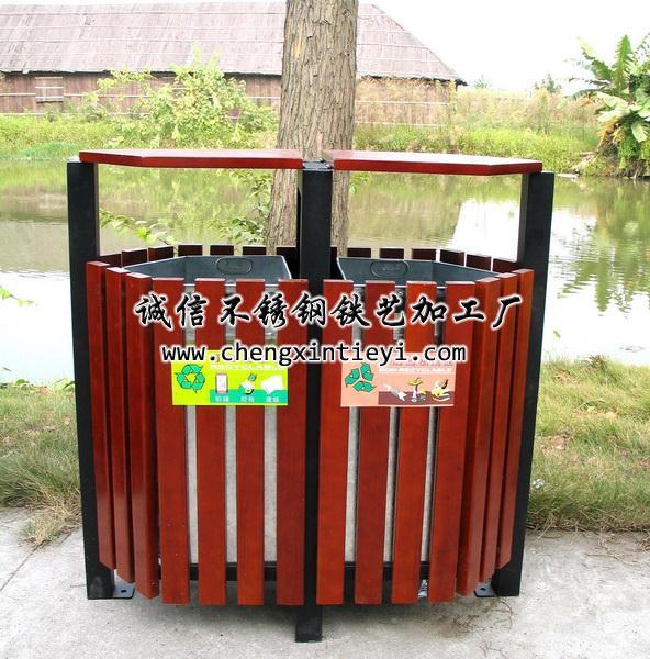 垃圾箱3 - 诚信不锈钢铁艺加工厂
